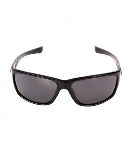 Ochelari de soare barbat sport polarizati Poli, negru